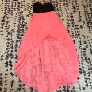 Charlotte Russe black and peach in color. Size M